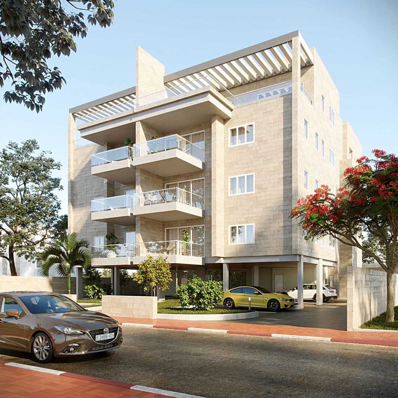Residential building in Ness Ziona